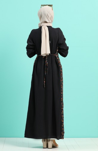 Schwarz Abayas 6060-02