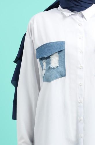 White Shirt 5001A-01