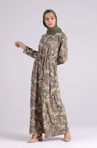 Green İslamitische Jurk 5709T-03