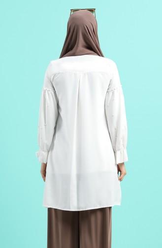 Tunique Blanc 8024-01