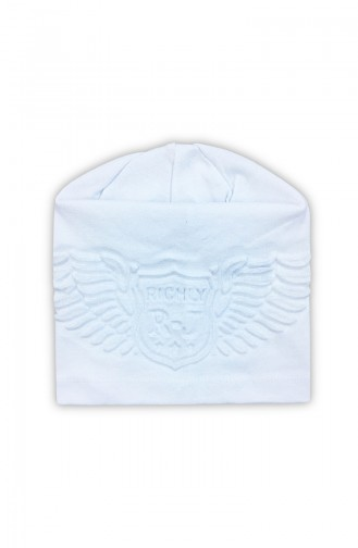 Chapeau et Bandana Blanc 0941