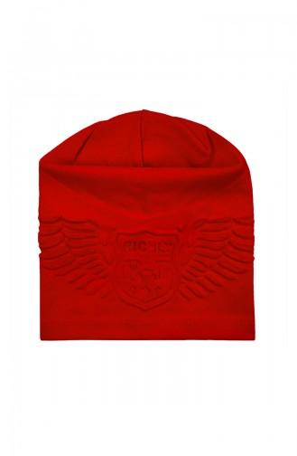 Chapeau et Bandana Rouge 0942