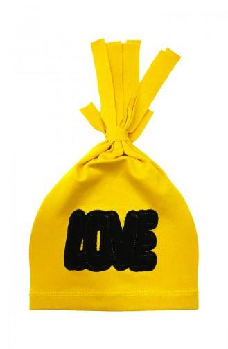 القبعات والباندانا أصفر 0966