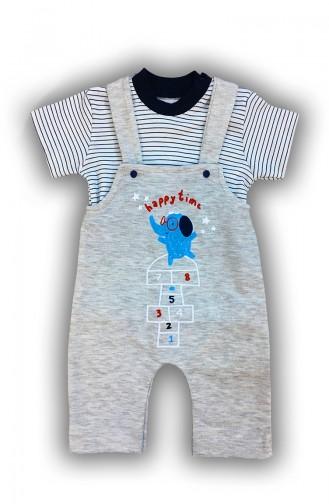 Vêtements Enfant Gris 0023