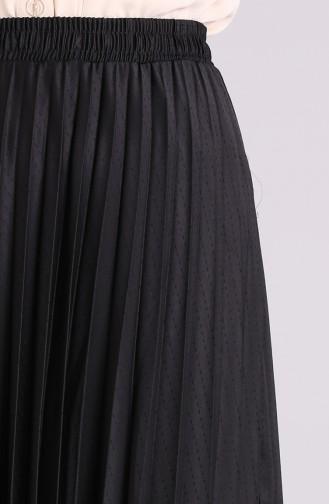 Jupe Noir 4217ETK-02
