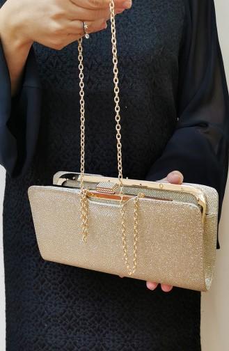 Goldfarbig Portfolio Handtasche 413111-207