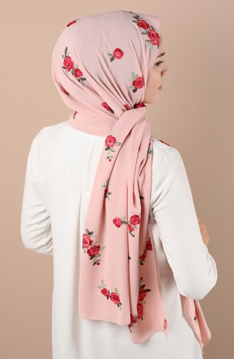 Châle Rose Pâle 1135-04