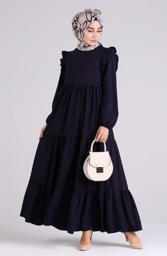 فستان الأرجواني الداكن 3100A-01