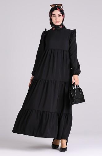 Robe Hijab Noir 3100A-02