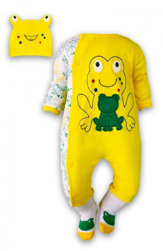 Yellow Baby Overall 0352