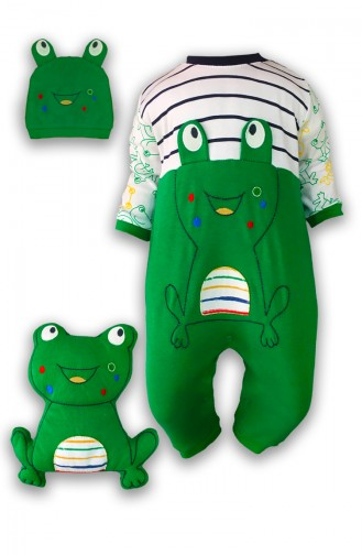 Green Baby Overall 0353