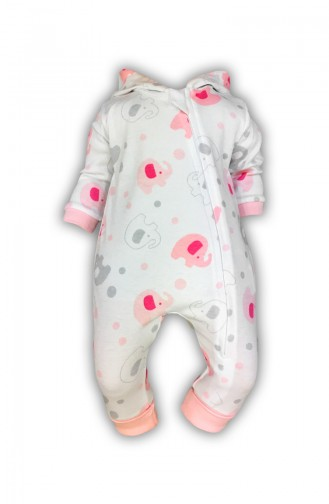 Pink Baby Overall 0401