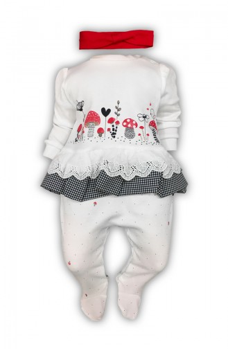 White Baby Overall 0409