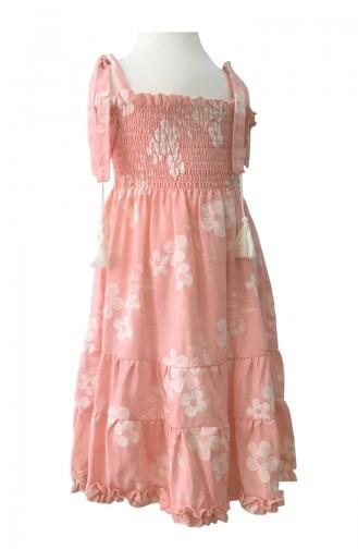 Robe Enfant Rose 0341