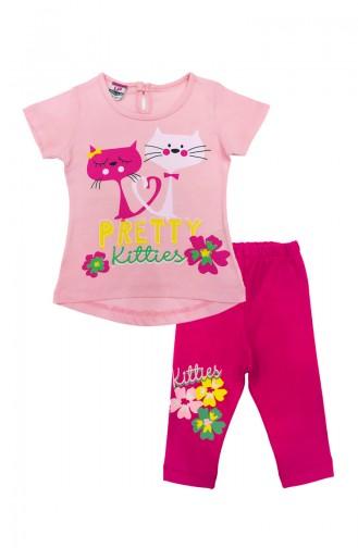 Ensembles Bébé et Enfant Rose 0298