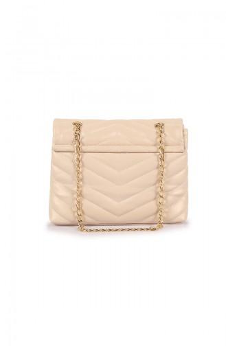 Cream Shoulder Bag 01Z-06