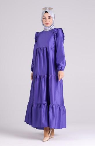 Robe Hijab Pourpre 3100-06