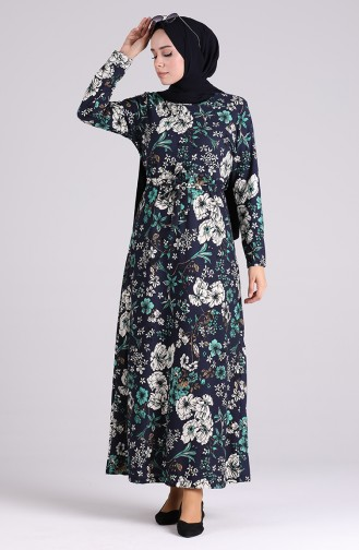 فستان تركواز 5709Z-04