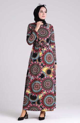 فستان أرجواني 5710-01