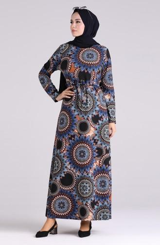 Robe Hijab Indigo 5710-03