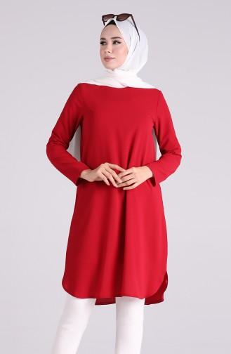 Basic Tunik 2122-04 Kırmızı