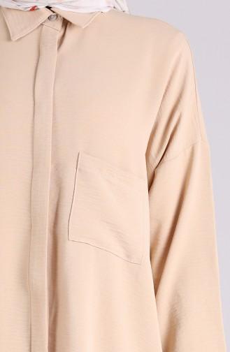 قميص بيج داكن 8155-02