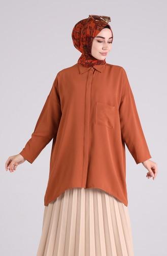 Cinnamon Overhemdblouse 8155-19