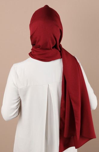 شال أحمر كلاريت 13184-03