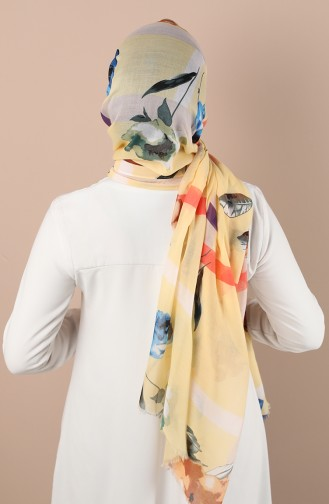Yellow Sjaal 24700-06