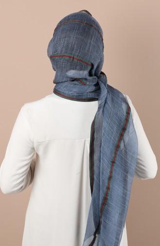 شال أزرق 34200-07