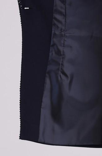 طقم أزرق كحلي 174000-02