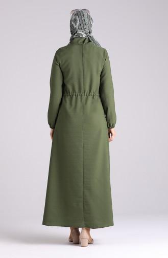 Robe Hijab Khaki 4325-03