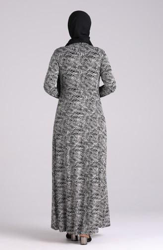 Robe Hijab Noir 4673-01