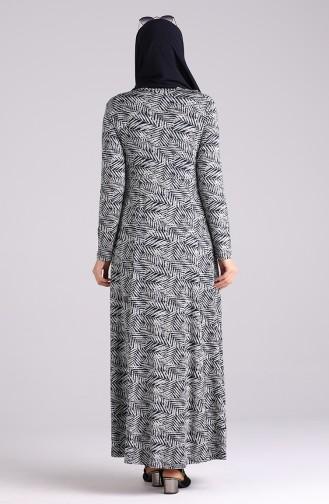 Robe Hijab Bleu Marine 4673-02