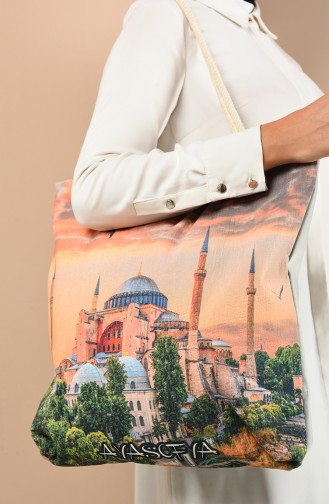 Orange Shoulder Bag 1017-01