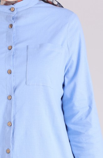Tunique Bleu Bébé 5035-10