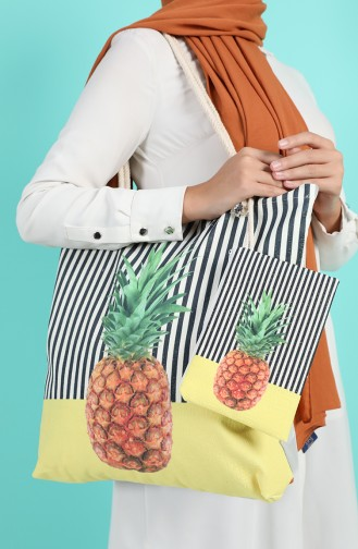 Yellow Shoulder Bag 1016-01