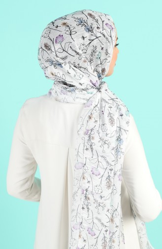 Weiß Schal 4995-01