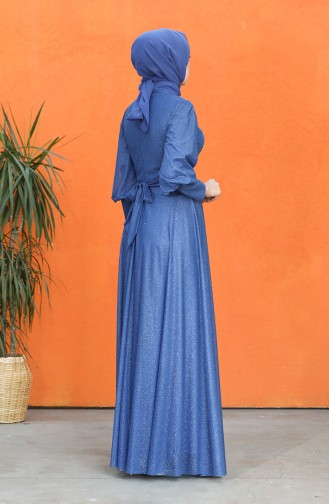 Habillé Hijab Blue roi 4822-03