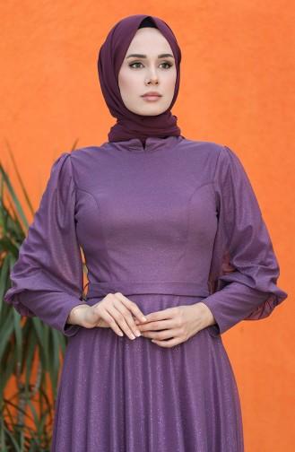 Habillé Hijab Pourpre 4822-05