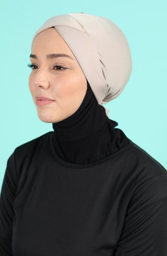 Bonnet de Bain Beige 1016-01