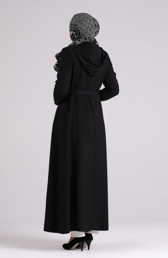 Abayas Noir 5947-02