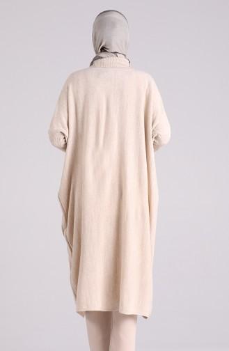 Beige Poncho 1050-03