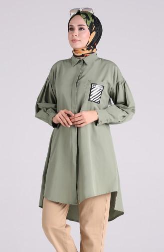 Tunique Vert noisette 5023-04