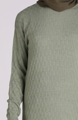 Pull Vert noisette 1460-01