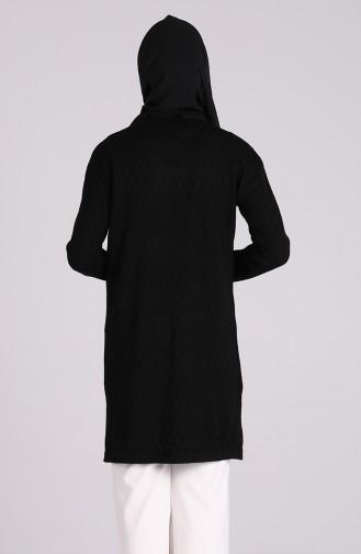 Triko Kazak 1460-06 Siyah