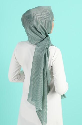 Châle Vert noisette 4840-05