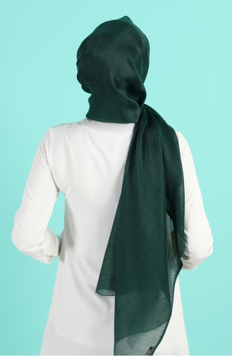 شال أخضر زمردي 4840-14