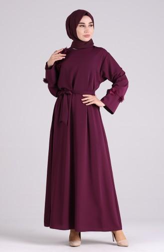 Habillé Hijab Pourpre 1119-01