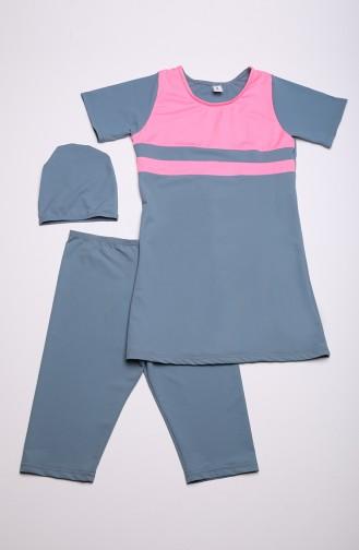 ملابس السباحة رمادي 0111A-04